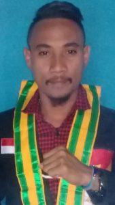Henrianus Bria, Bendahara Umum Gerakan Mahasiswa Malaka Kefamenanu (Foto: Dok. Pribadi)