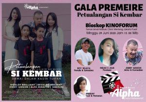 """Film Petualangan """"Si Kembar"""" karya Sutradara Roy Wijaya, Siap Tayang di Berbagai Bioskop di Jakarta (Foto: Dok. RW)"""