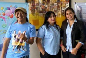 Sutradara Film Petualangan Si Kembar, Roy Wijaya (Kiri) dalam Konferensi Pers Peluncuran Film di Maven Hotel Jakarta (Dok. Tim)