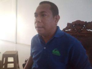 Hendrikus Fahik, Sekretaris DPC PKB Kabupaten Malaka - Wakil Ketua I Dewan Perwakilan Rakyat Daerah Kabupaten Malaka (Foto: Jes)