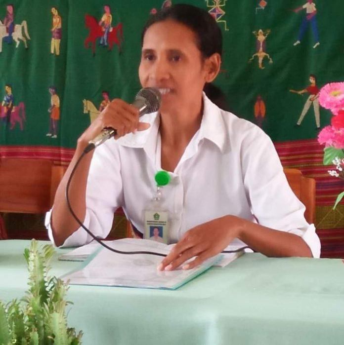 Arnoldina Mariana Hoar Bria, S.Ag - Pengawas Sekolah Muda Pendidikan Katolik Tingkat TK/SD Pada Kantor Kementerian Agama Kab. Malaka