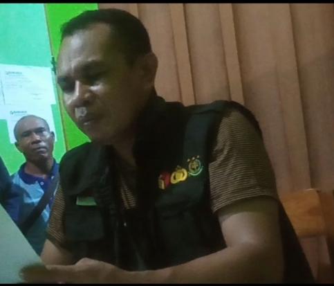 Ketua Bawaslu Kabupaten Malaka sekaligus Koordinator Gakkumdu, Petrus Nahak Manek, S.P. (Foto: Istimewa)