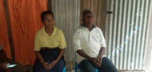 Elisabeth Bete, salah satu turunan Suku Uma Meni bersama suaminya, Eduardus Nana (Foto: Red)
